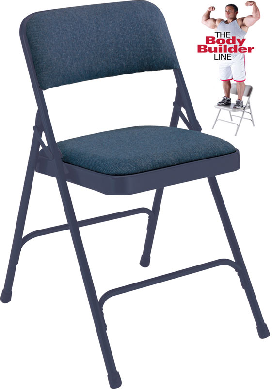 cloth padded folding chairs cheap outdoor lounge fabric steel chair