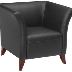 Office Star Chairs Mid Century Kitchen Table And Sl15 Series Black Faux Leather Club Chair