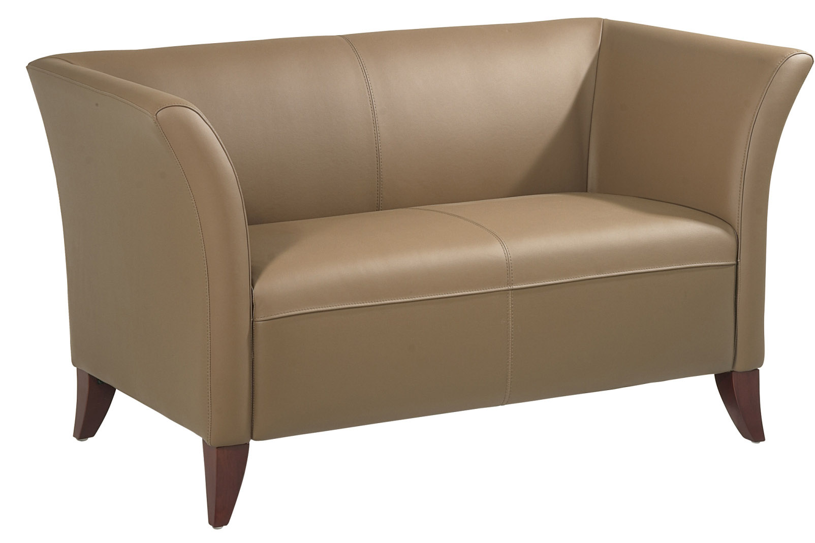 office club chairs target outdoor dining star sl1871 taupe leather chair sl15 series faux loveseat