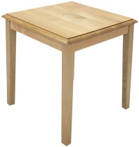 Solid Wood Reception End Table & Coffee Table Series