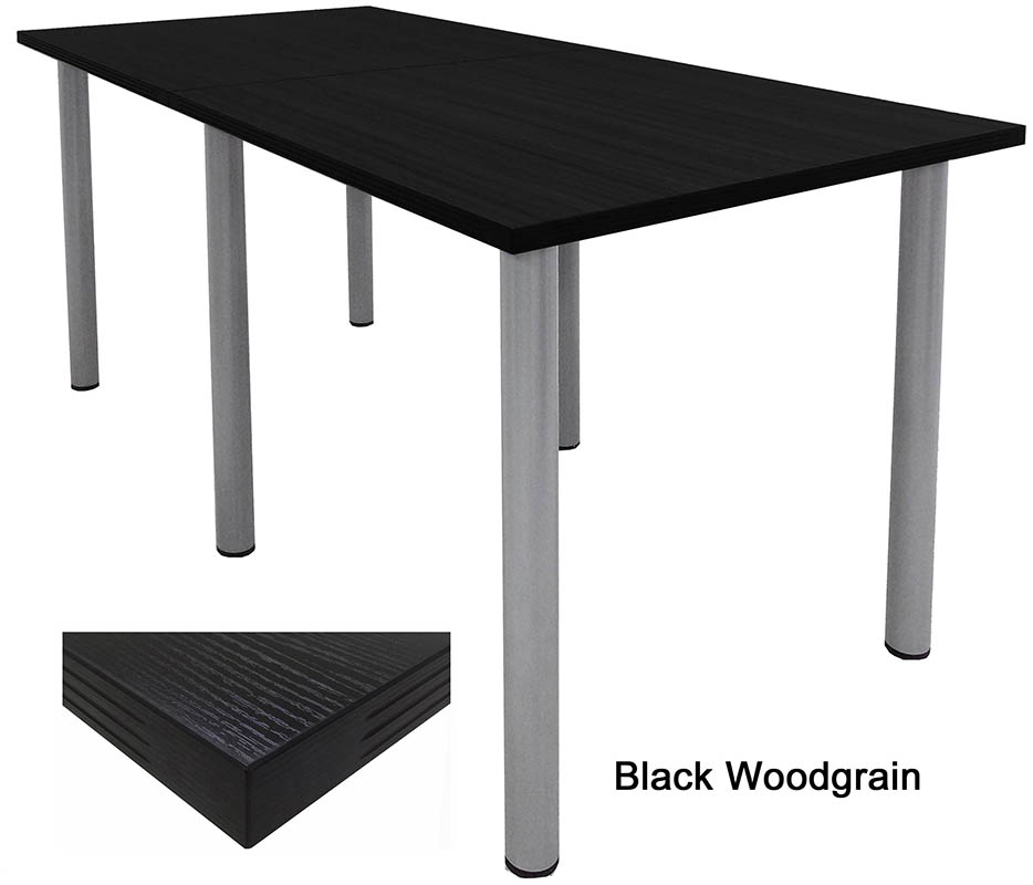 Standing Height Conference Tables wRound Post Legs in