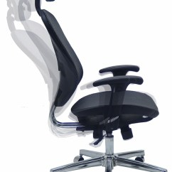 Ergonomic Chair Description Kids Comfy Trendflex Elastic All Mesh W Headrest
