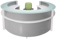 Circular Reception Desk - Hostgarcia
