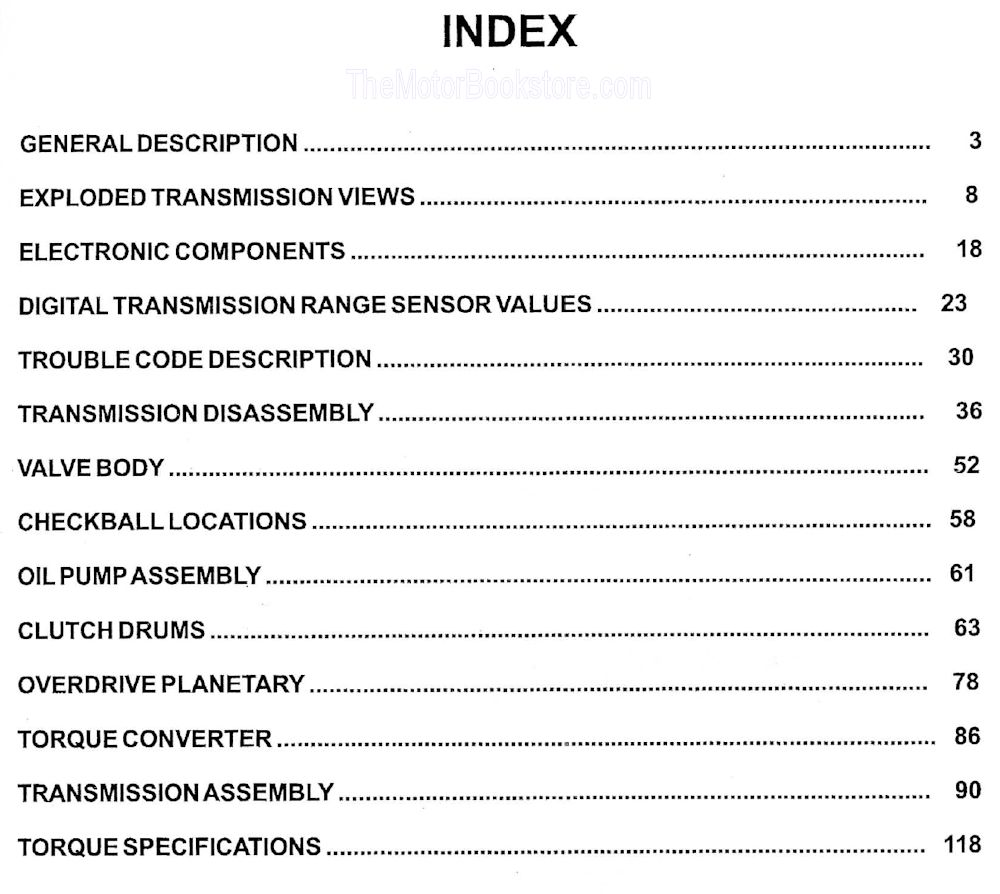 hight resolution of ford 5r55e transmission rebuild manual 1997 up