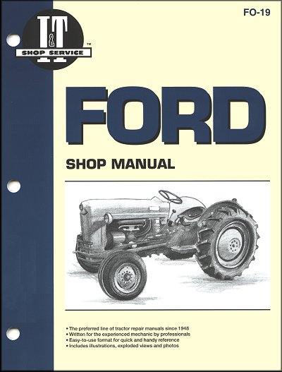 1953 Ford Naa Wiring Diagram