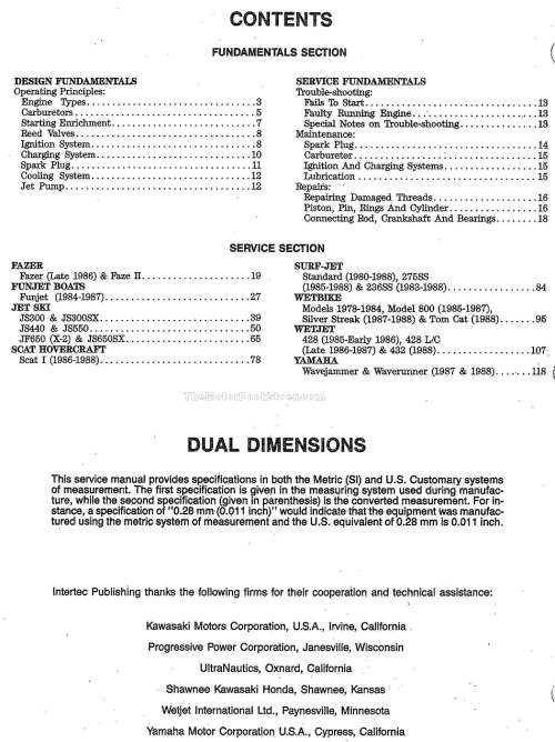 small resolution of  kawasaki personal water vehicle service manual 1980 1988 free shipping on 1980 honda 440 ltd how to install universal electrical