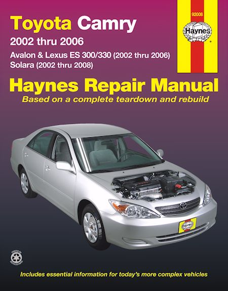 2002 Toyota Camry Wiring Diagrams