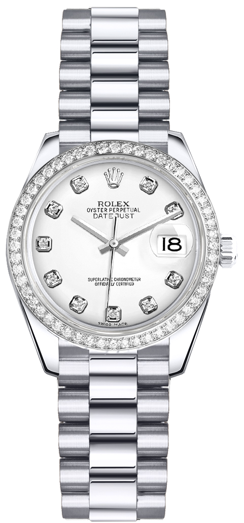 179136 Rolex Oyster Perpetual Lady Datejust Diamond Watch