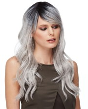 ombre grey wig urban