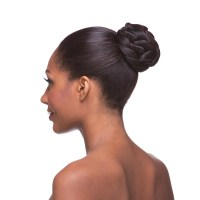 Petal Braid Bun Hair Piece