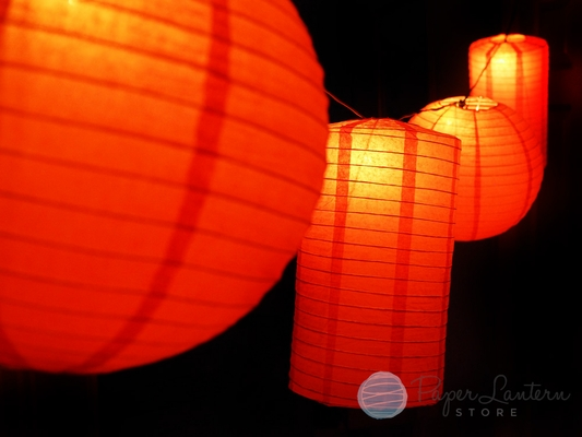 Chinese Lantern Outdoor String Lights