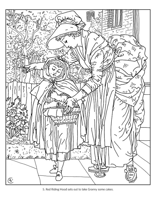 coloring pages kids fairy tale king queen # 17
