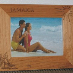 Mini Beach Chair Picture Frames Dining Room Covers Dunelm Jamaica Frame Personalized Souvenir
