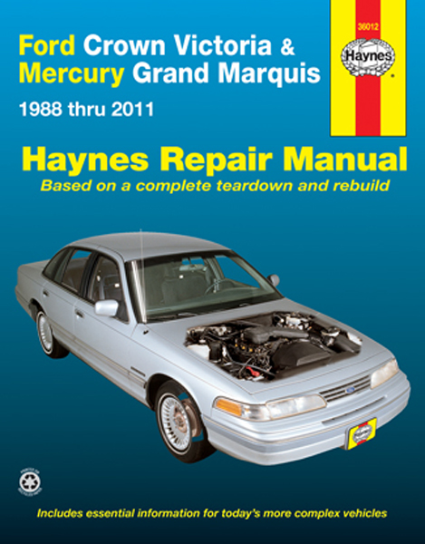 2005 Ford Crown Victoria Wiring Diagrams Online Repair Manuals