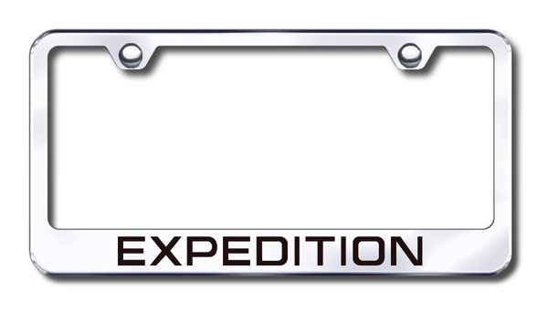 Ford Expedition Laser Etched Stainless Steel License Plate