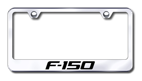 Ford F150 Laser Etched Stainless Steel License Plate Frame