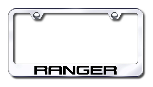 Ford Ranger Laser Etched Stainless Steel License Plate