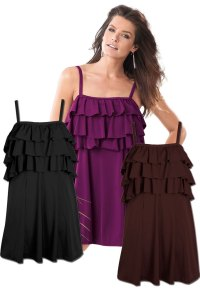 SOLD OUT! CLEARANCE! Beautiful Black or Brown Ruffle Trim ...
