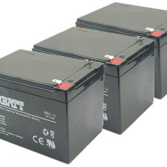36 Volt Series Speaker Crossover Wiring Diagram Battery Set Three 12 Volts Total Maintenance Free Sla Rechargeable Scooter 104 9 3