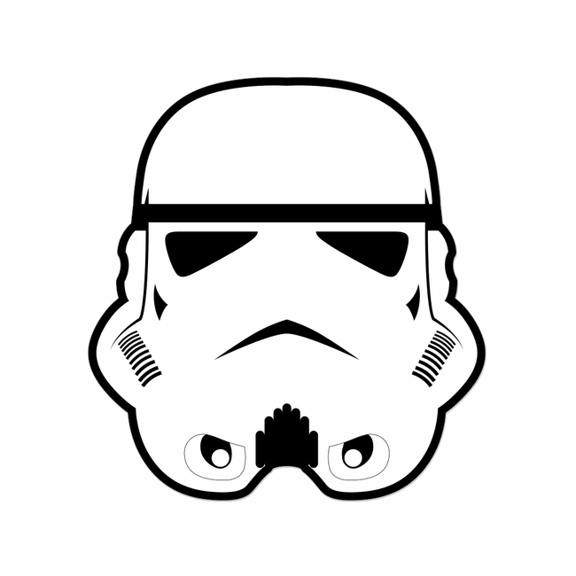 Star Wars: Stormtrooper Laser Die Cut