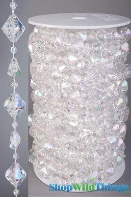 Discount Rolls of Beads Large Gemstones 60 Foot Long Strands