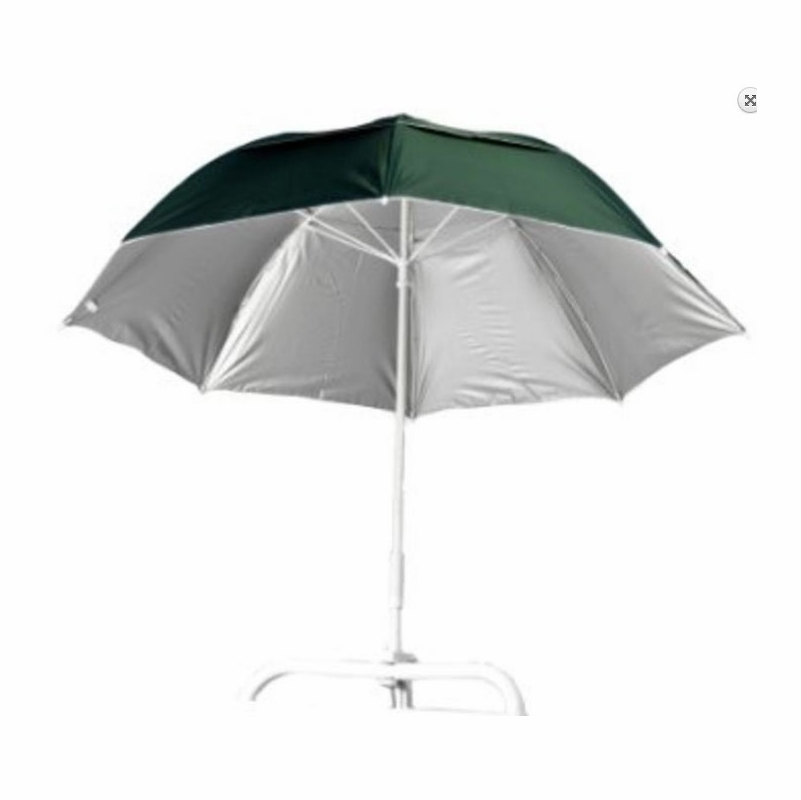 fishing chair umbrella clamp with secret compartment frankford sons solar reflective on umbrellas tackledirect