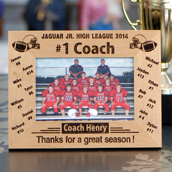 personalized 1 football coach