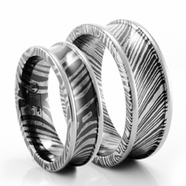 Matching Wedding Bands Titanium Tungsten And Palladium