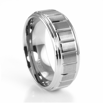 ArtCarved Tungsten Wedding Bands ArtCarved Tungsten Rings