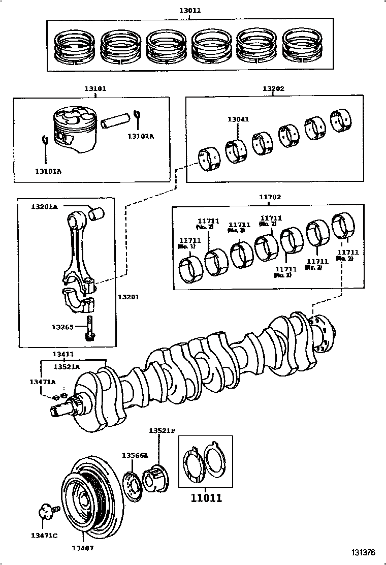 Toyota 2JZ Timing Belt Guide