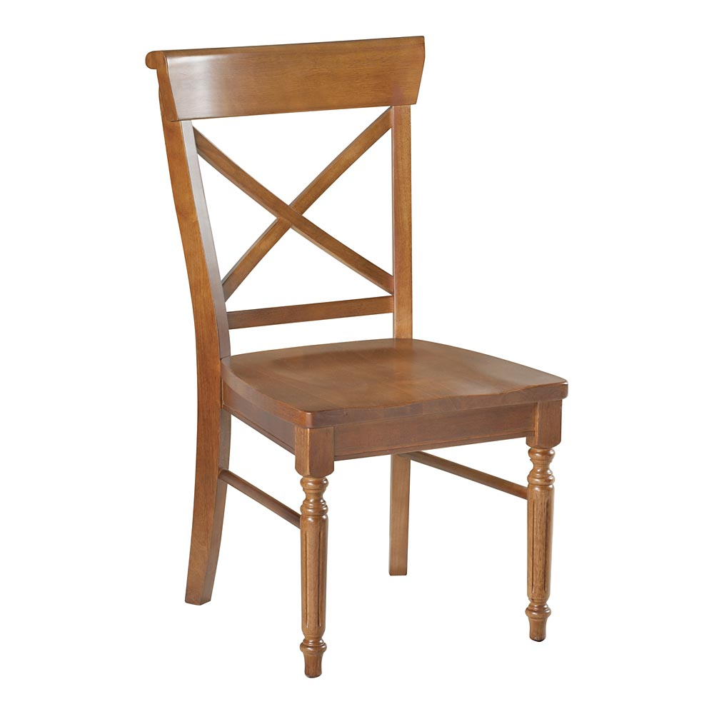 Bassett X Back Dining Side Chair  dining chairs