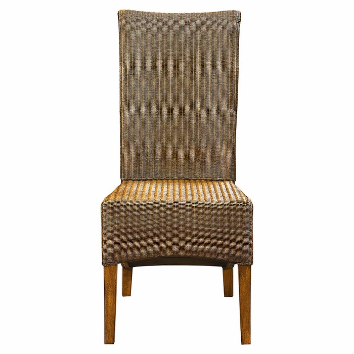 Custom Dining Woven Chair  Bassett Dining Chairs