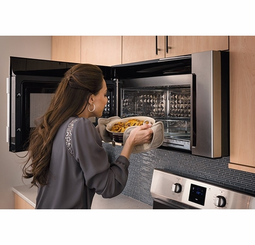 fpbm3077rf frigidaire professional 1 8 cu ft 2 in 1 over the range convection microwave stainless steel