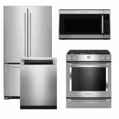 Kitchen Aid Appliance Italian Cabinets Package K2 Kitchenaid 4 Piece With Gas Range Stainless Steel Code 60500 16732 19802 14480 17199 Manufacturer