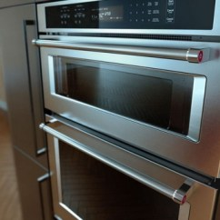 Kitchen Aid Ovens Gloves Koce500ess Kitchenaid 30 Even Heat True Convection Combination Wall Oven With Built In Microwave And Satinglide