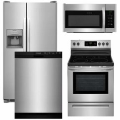 Kitchen Appliance Suite Planner Tool Package 13 Frigidaire 4 Piece With Electric Range Stainless Steel Code 60500 16412 19008 14292 17170