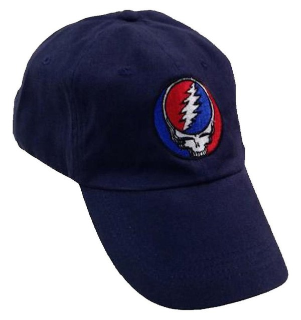 Grateful Dead Steal Face Navy Embroidered Hat