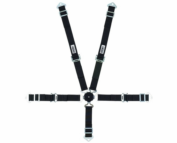 Crow Jr. Dragster Seat Belt Harness 5 Point 2 inch Camlock