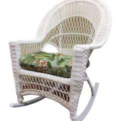 Wicker Rocking Chairs Outdoor Diy Chair Cushion Upholstery Rocker Cape Cod