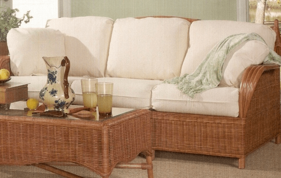 replacement garden sofa cushions cost to recover rattan sleeper - siesta key