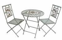 Alpine Corp MOD102A Birds on Branches Bistro Set (1 table ...
