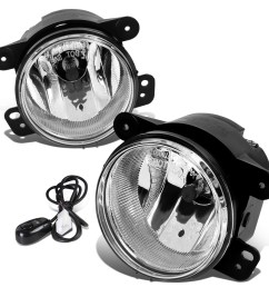 07 17 jeep wrangler jk pair of driving bumper fog lights wiring harness  [ 1200 x 1200 Pixel ]
