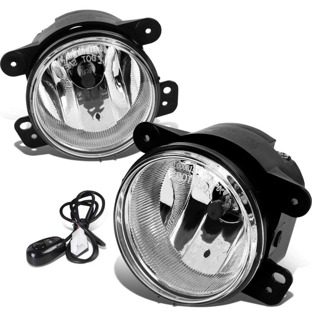 medium resolution of 07 17 jeep wrangler jk pair of driving bumper fog lights wiring harness