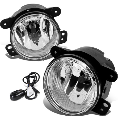 small resolution of 07 17 jeep wrangler jk pair of driving bumper fog lights wiring harness