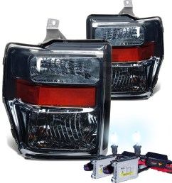 hid xenon 2008 2010 ford f250 f350 superduty crystal 2008 ford f250 headlight wiring diagram 2008 [ 1200 x 1200 Pixel ]
