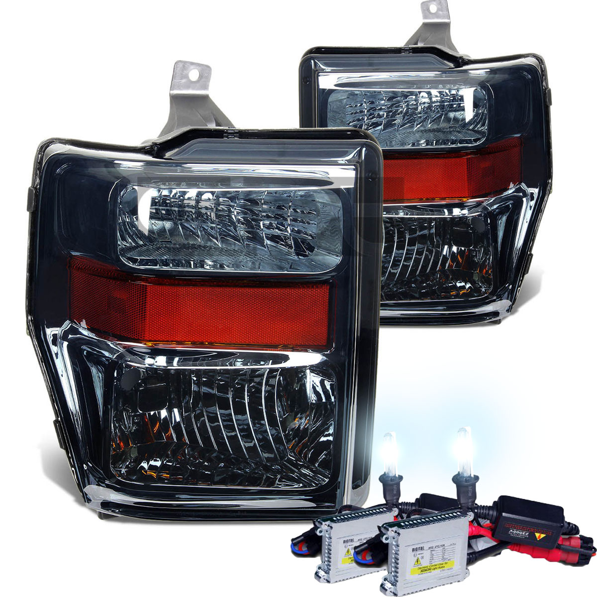 hight resolution of hid xenon 2008 2010 ford f250 f350 superduty crystal 2008 ford f250 headlight wiring diagram 2008