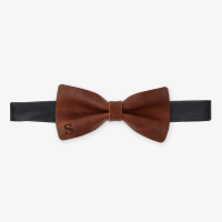 Personalized Gifts - Genuine Leather Bow Tie - Buy Now