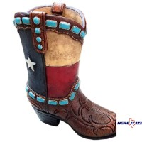 Texas Boot Pen Holder