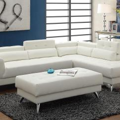 White Leather Sectional Sofa With Ottoman Innovation Sofas Melbourne Steal A Furniture Outlet Los Angeles Ca