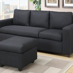 Los Angeles Sectional Sofa Repair Dallas Tx Black Fabric - Steal-a-sofa Furniture ...